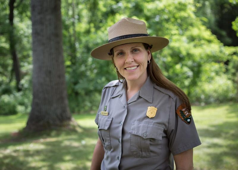 Shenandoah National Park's air and water quality project manager Jalyn