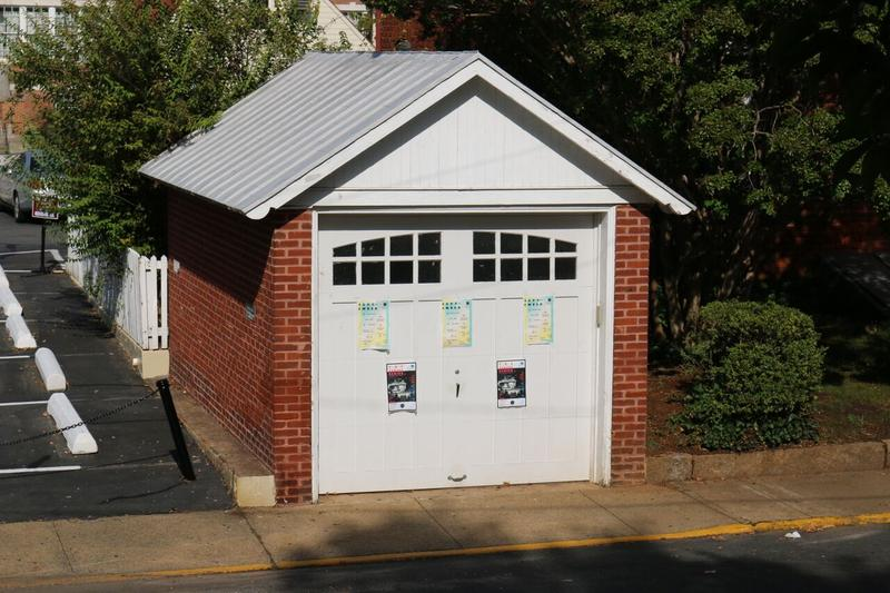 This tiny one-car garage in Charlottesville regularly hosts free concerts. Many of the bands who perform here also work with Forrest and Zaynah Pando to create videos for GarageVideoSessions.com.