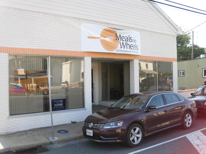The Meals on Wheels headquarters near downtown Charlottesville.