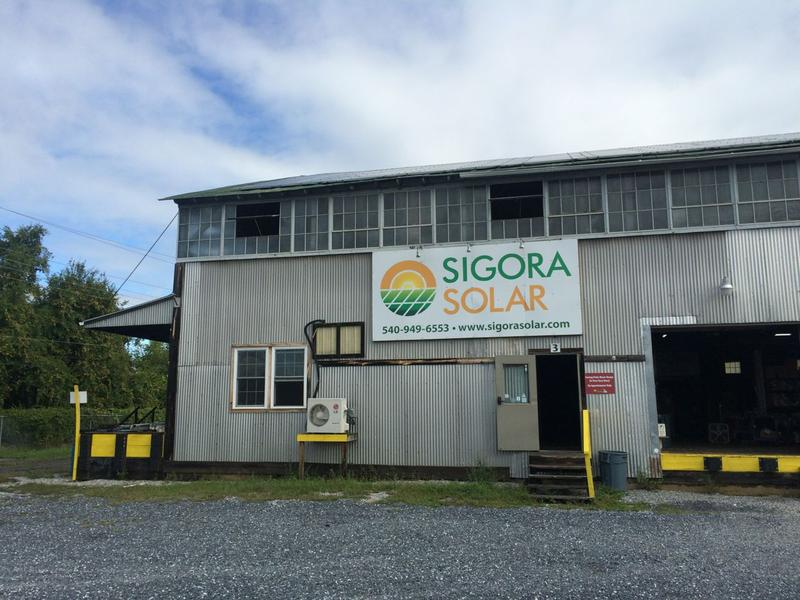 Sigora Solar's main headquarters in Waynesboro.  The company has a staff of 36 and is currently hiring.