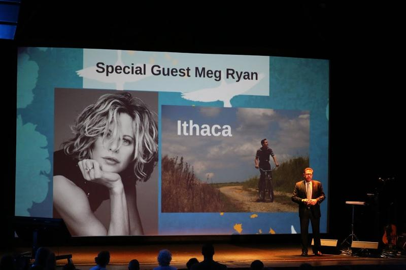 "Actress Meg Ryan will be making her directorial debut at this year's Festival with her film ""Ithaca."" It was shot entirely on location in Virginia, and tells the story of a young telegraph delivery boy during WWII."