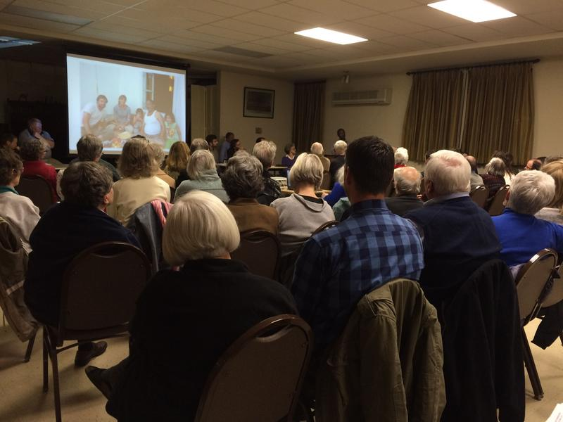 A Refugee Working Group event in Lexington is standing room only. Since its inaugral public meeting in December, in which W&L Professor Blecher and several of his colleagues spoke about the Middle East and Islam, 280 people have joined the group.