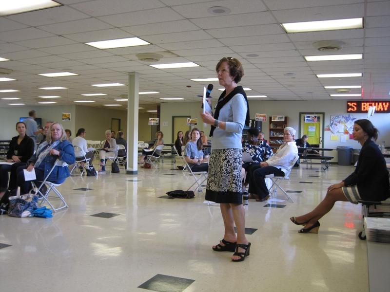 Alicia Lenahan is the president of Piedmont CASA, which organized and facilitated the poverty simulation.