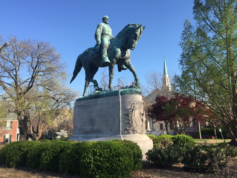 Statue of Robert E. Lee in Lee Park