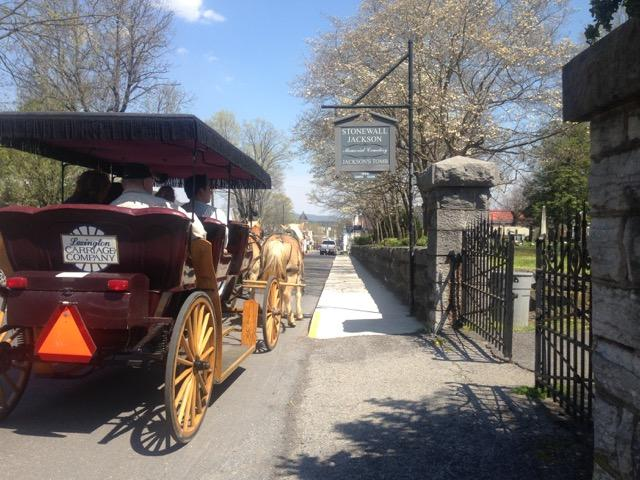 On the other side of town, the much better maintained Stonewall Jackson Memorial Cemetery draws hundreds of tourists.