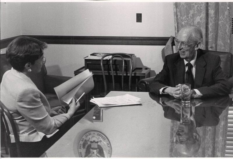 Connie Doebele interviews Justice Lewis Powell