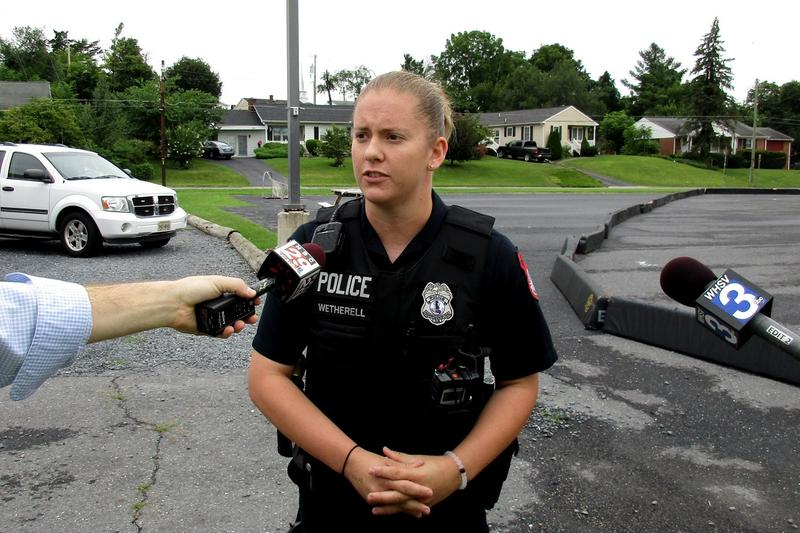 Brooke Wetherell joined the Harrisonburg Police Department four years ago when she was 20.