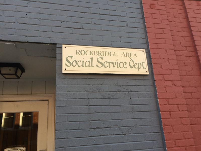 Rockbridge Area Department of Social Services in Lexington.