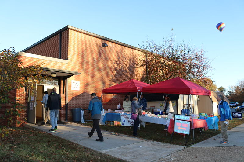 Woodbrook's PTO decided with all the voter traffic, it'd be a good day for a bake sale.