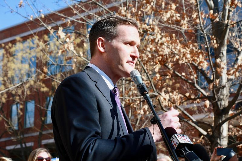 "Charlottesville Mayor Mike Signer declared on Tuesday before a large crowd downtown that the city is ""a capitol of the resistance."""
