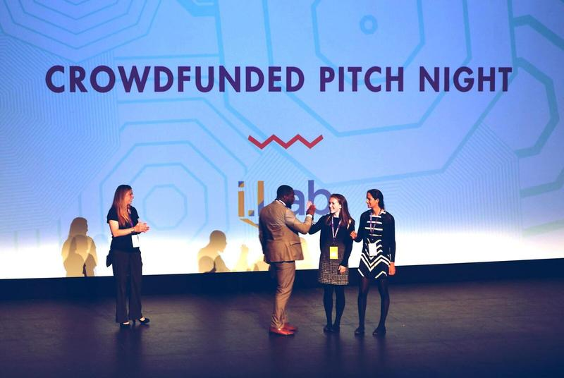 Last year, Clara & Leela pitched their business concept during the Tom Tom Founders Festival Crowd-funded Pitch Night. They won, despite being the youngest entrants in the competition's 5-year history.