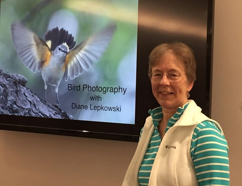 Diane Lepkowski, Rockingham County's Deputy Zoning Administrator and Deputy Subdivision Agent, calls herself an obsessive hobby birder.