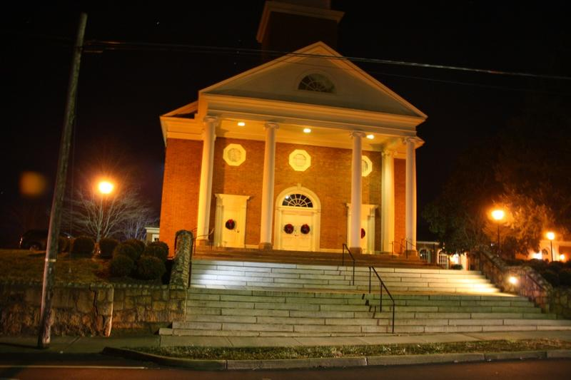 First Presbyterian Church in Charlottesville is one of the more than 80 area congregations that house local homeless men and women for up to two weeks at a time.