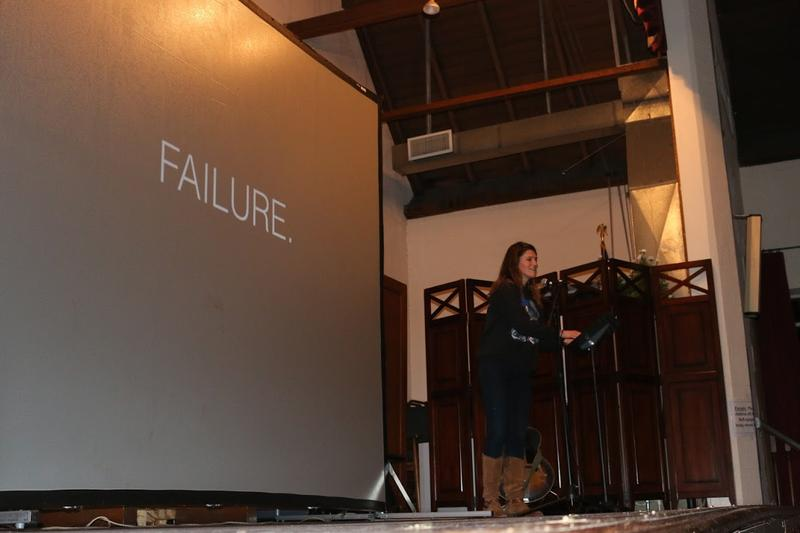 "Lulu Miller, co-host of NPR's Invisibilia podcast, was one of three artists who presented at ""The Art of Failure."" She spoke about how she overcame her fear of conducting interviews."