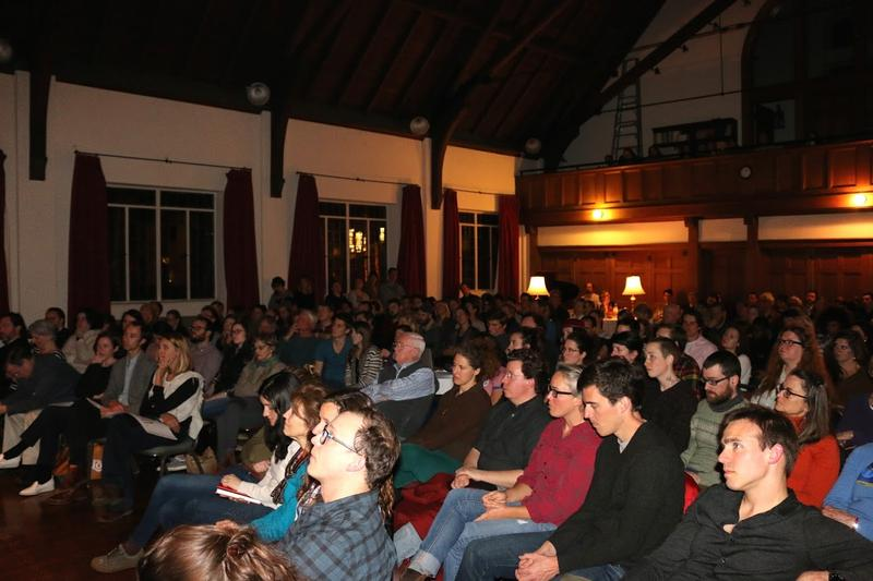"About 180 people attended ""The Art of Failure"" — twice as many as normally attend the ""Makers Series"" events."