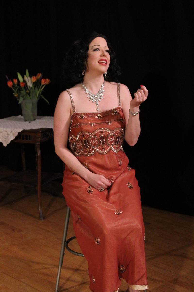 "Heather Massie of New York City will perform her one-woman play, ""Hedy! The Life and Inventions of Hedy Lamarr"" at ShenFringe in Staunton."
