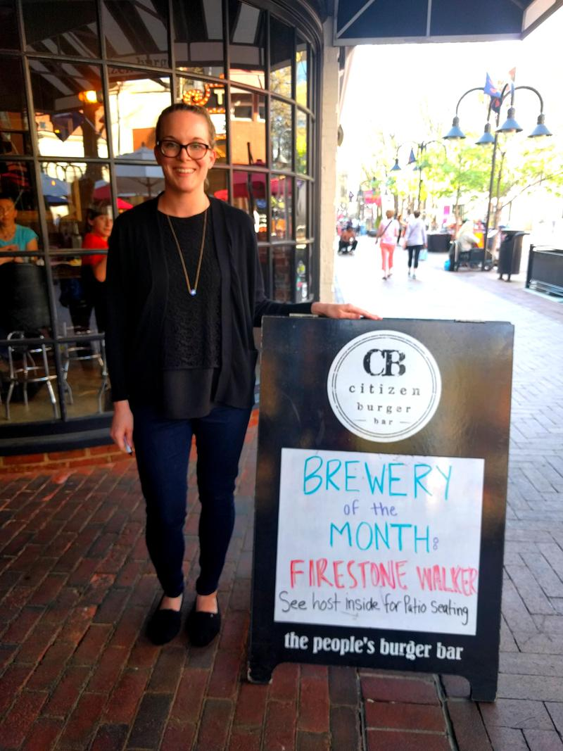 Citizen Burger Bar's manager Kate Ellwood is participating in the 'Farm to Table Restaurant Week' again this year.