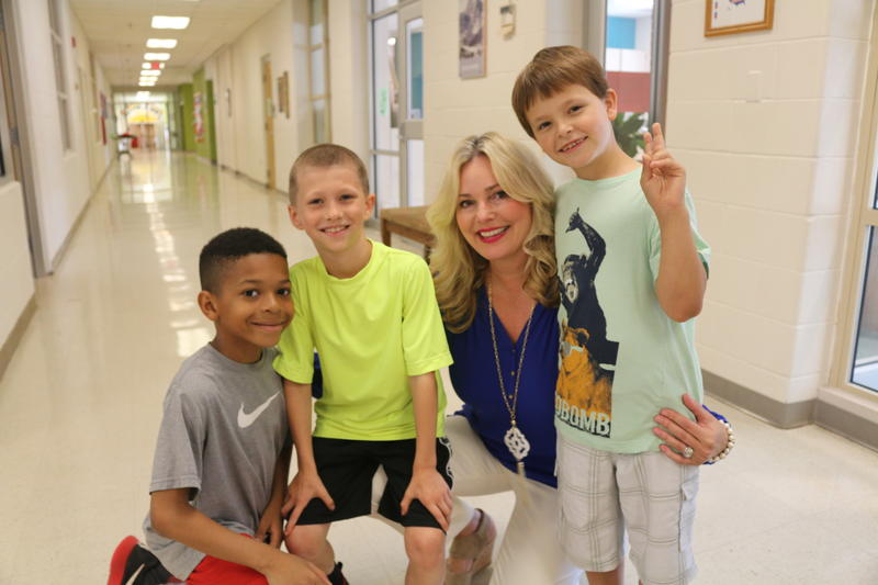 "As Principal of Agnor Hurt Elementary School, Michele Castner was a big advocate of adding multi-age classrooms. ""I think we've created the ideal environment for children to thrive and love learning,"" she says."