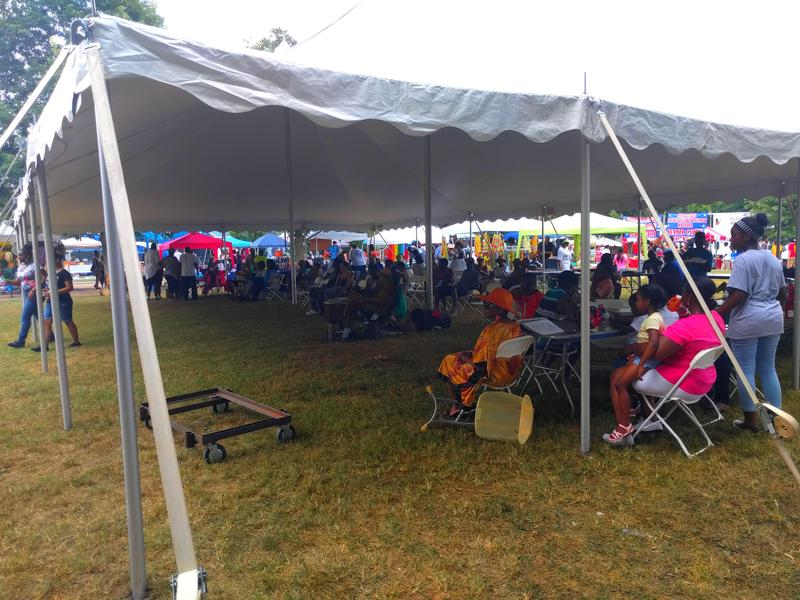 Just like last year, this year's final day will take place in Booker T. Washington Park.