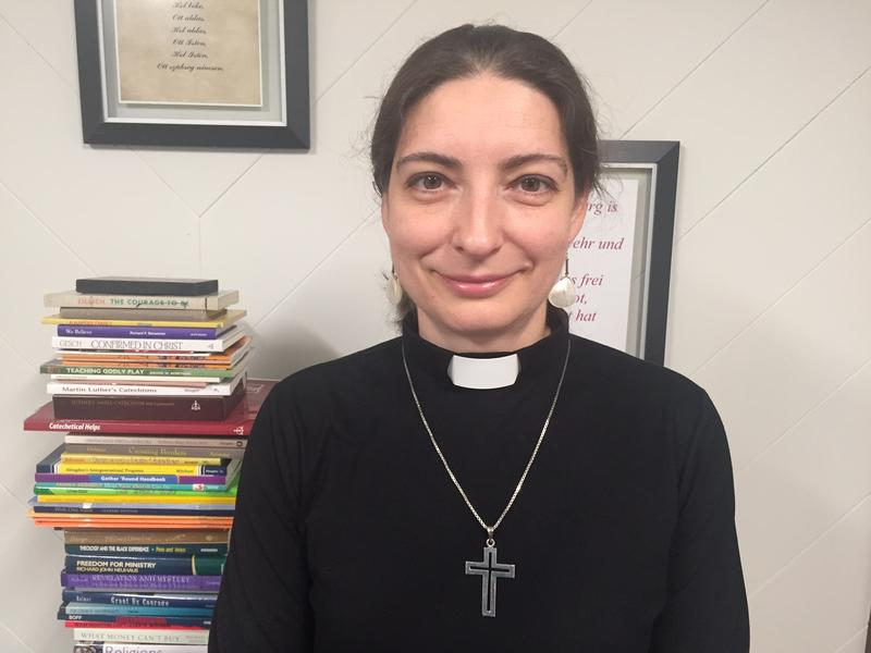 Born under communism in Hungary, Viktoria Parvin has traveled a long path to become pastor at St. Mark Lutheran in Charlottesville.