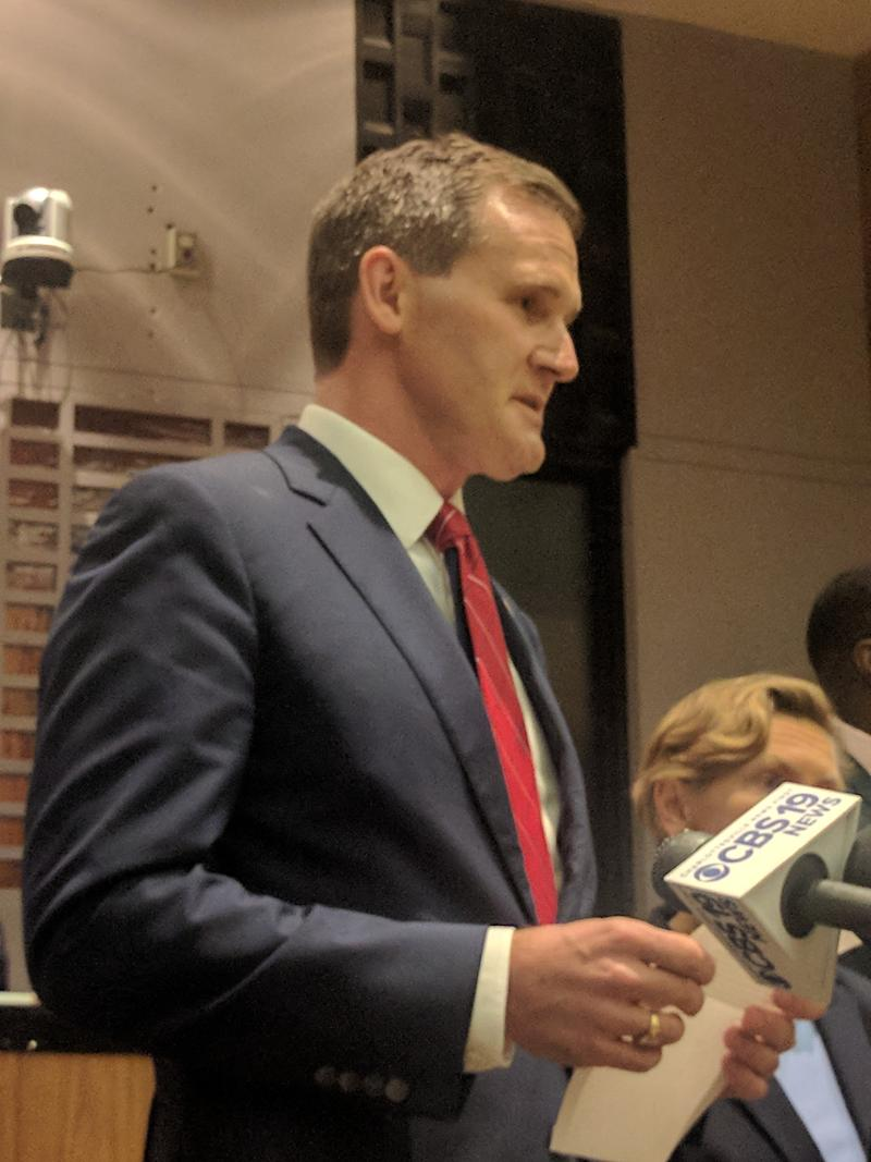 Charlottesville's Mayor Mike Signer issued a public apology, following his controversial Facebook statement on August 24. In it, he criticized City Manager Maurice Jones and Police Chief Al Thomas for the actions taken before and during August 12's rally.