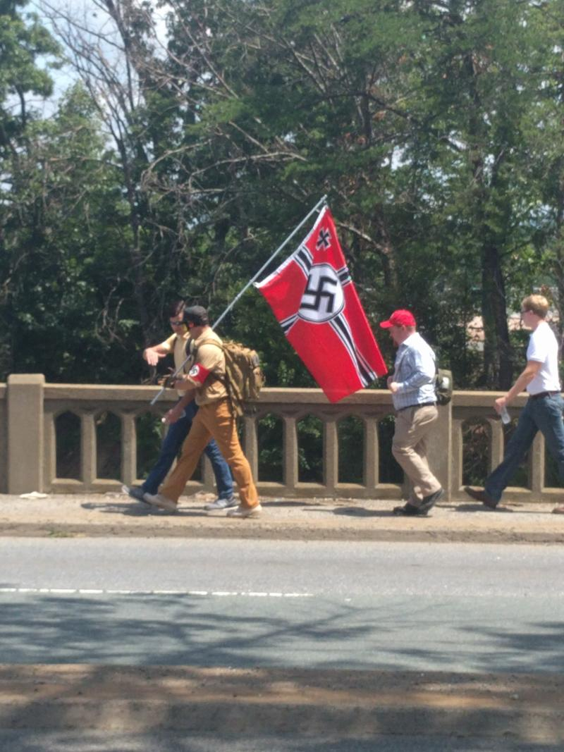 "Neo-Nazis were part of the ""Unite the Right"" rally."
