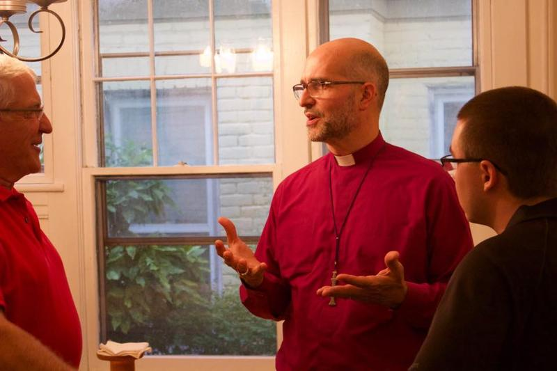 "Bishop Mark Bourlakas of the Episcopal Diocese of Southwestern Virginia plans to implement the ""Becoming Beloved Community"" plan by hosting a series of talks throughout the region on racial reconciliation."