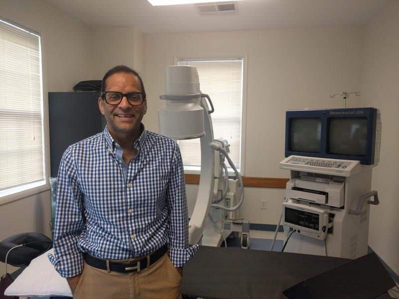 Rasheed Siddiqui is a pain management physician, and has been practicing in the Charlottesville area for about 16 years. While his practice is private, he is credentialed at Sentara Martha Jefferson Hospital and sees patients there too.