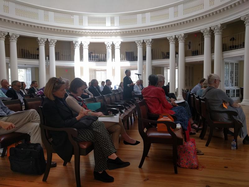 A one-hour Q/A with Faculty Senators ensued. Senator Sylvia Chong expressed her concern about increased policing, while activist and UVa associate professor Jalane Schmidt asked the University to award a commendation to the students who defended UVa.