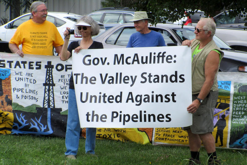 A message for Governor McAuliffe, who is a proponent of the pipelines.