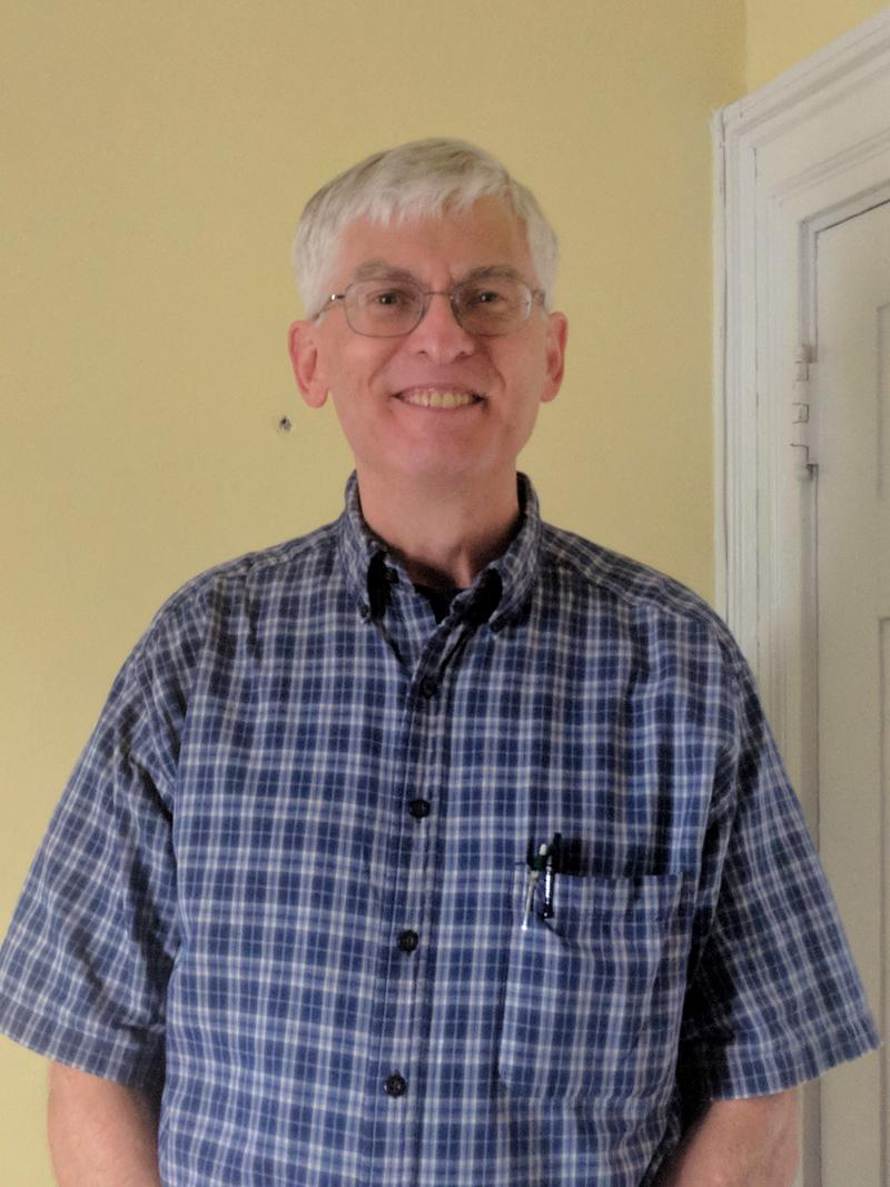 Bill Johnson, a UVa professor, has been coming to On Our Own for about 7 months as part of his personal recovery program, and is now a new member to On Our Own's Board.