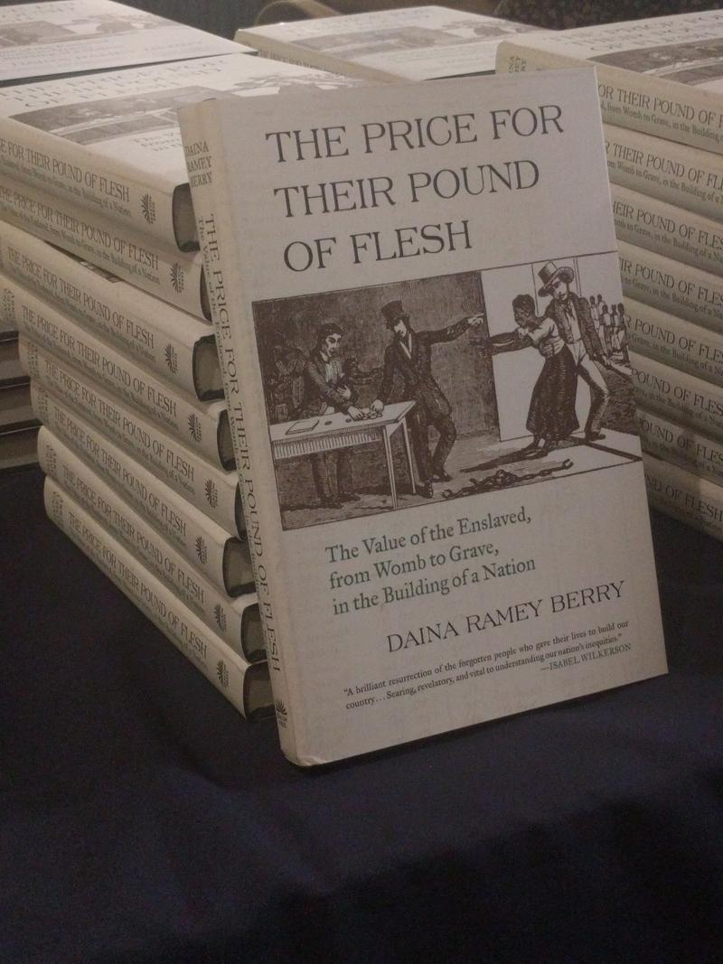 "Professor Berry is the author of a book on the topic of the trade of slaves' cadavers and body snatchers: ""The Price for their Pound of Flesh."""
