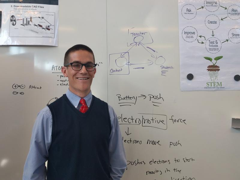 Brendan Martin is a former UVa graduate student in Systems Engineering, and did the Teach For America program. He has been Buford Middle School's Engineering teacher for the past 3 years.