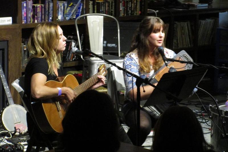 Megan Tiller (left) and Melanie Schlabach