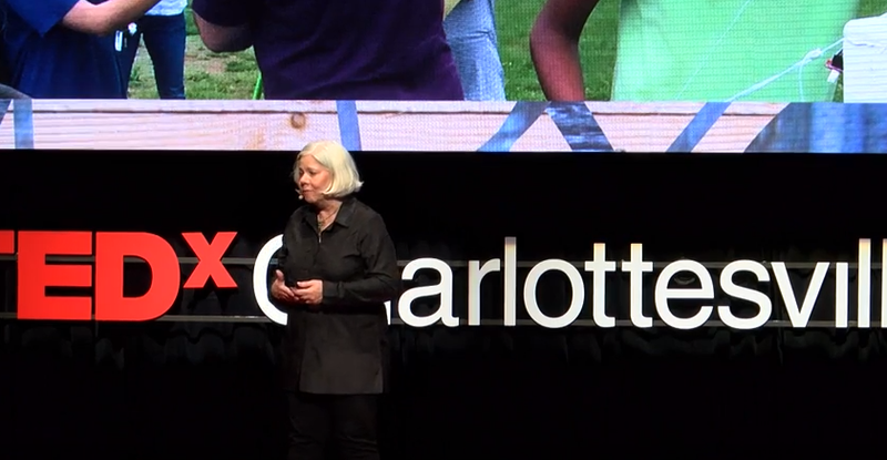 At the 2016 edition of TEDx Charlottesville, local community leaders spoke as well, such as Albemarle County Public Schools' superintendent Pam Moran on education and community involvement.