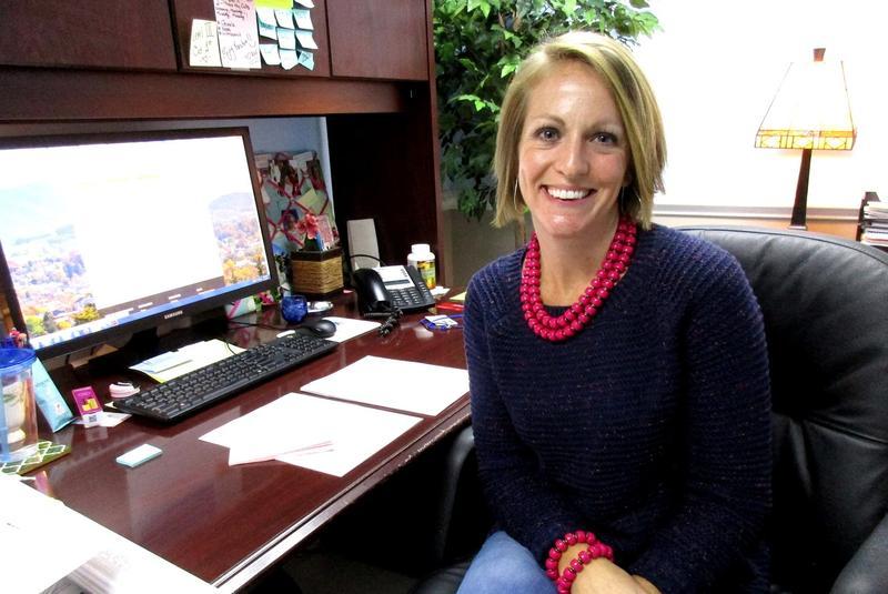 Harrisonburg's Public Utilities Assistant is Meranda Lokey.