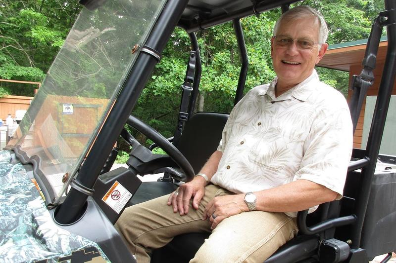 Ed Clark is the president and founder of the Wildlife Center of Virginia, a training hospital for wildlife near Waynesboro.