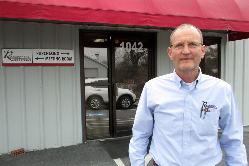 Keith Turner is the feed division manager for Rockingham Cooperative in Harrisonburg.