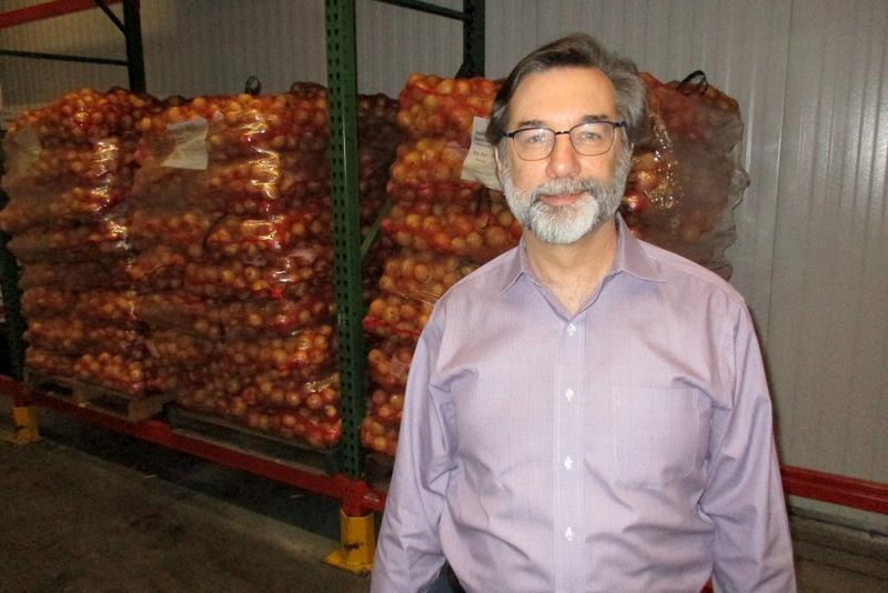 Blue Ridge Area Food Bank CEO Michael McKee.