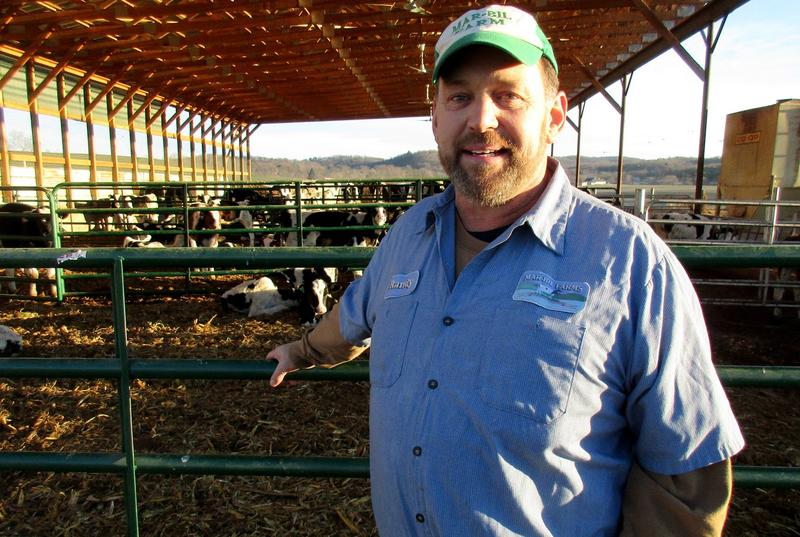 Randy Inman is a third generation dairy farmer who farms east of Mount Crawford.