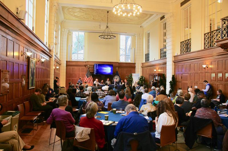 About 90 people attended Charlottesville's first all-day housing summit in an attempt to find answers to stem the growing affordable housing crisis.
