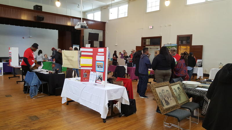 For the second edition of Memories Matter, there were booths from James Monroe's Highland, James Madison's Montpelier, the Virginia Foundation for the Humanities, Getting Word Oral History Project at Monticello, Ivy Creek Foundation, and many others.