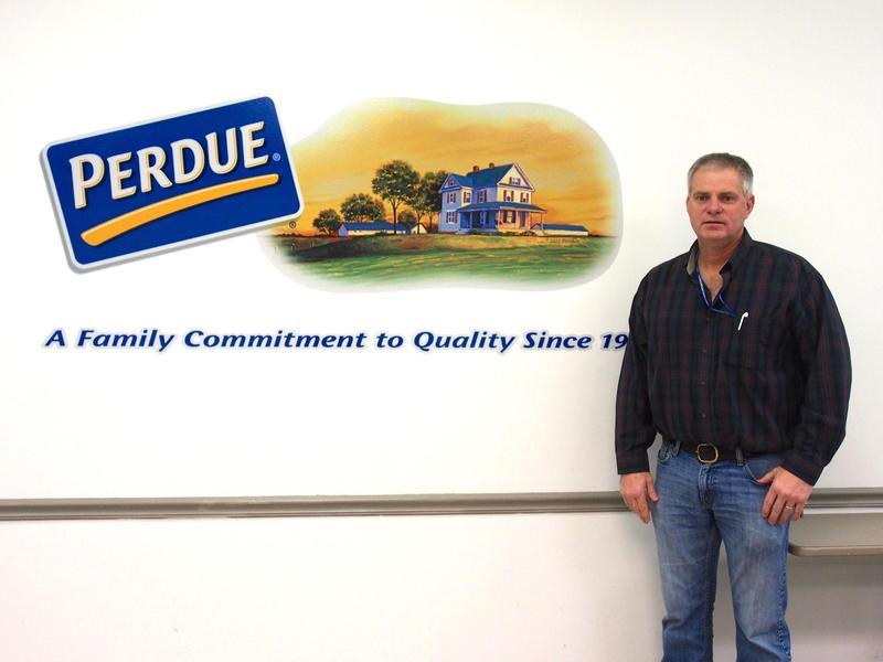 Perdue Director of Operations Kenny Lambert.