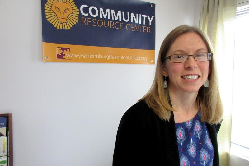 Mary Beth Hill is the coordinator of the Harrisonburg Community Resource Center.