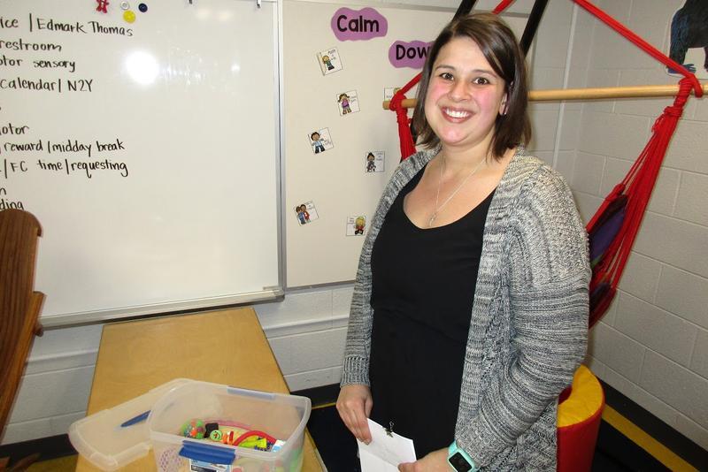 Beth Davis is the Shenandoah Valley Regional Program teacher of students with autism at John Wayland Elementary School in Bridgewater.