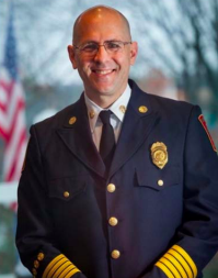 Andrew Baxter is the chief of Charlottesville's Fire Department.  He's also the father of a 19-year-old with autism.