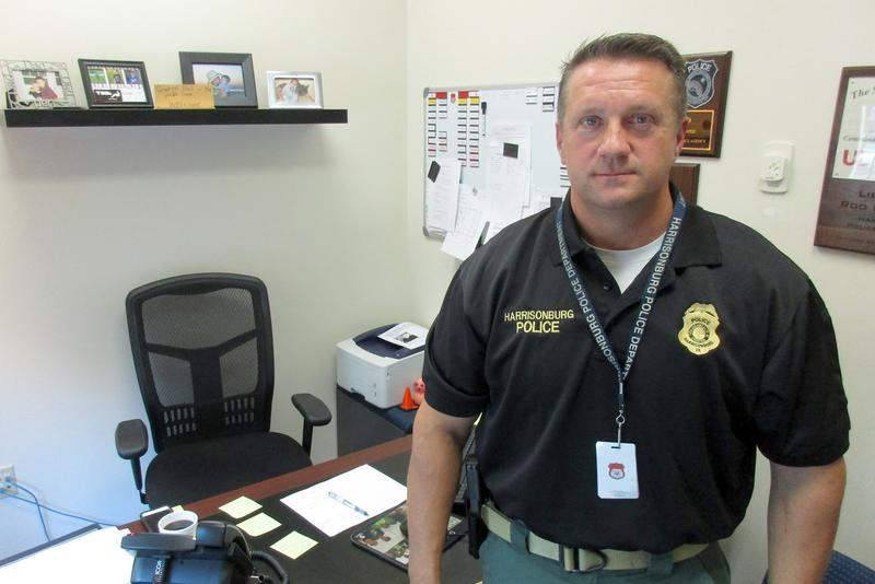 Harrisonburg Police Department Lt. Rod Pollard coordinates restorative justice efforts for the department.