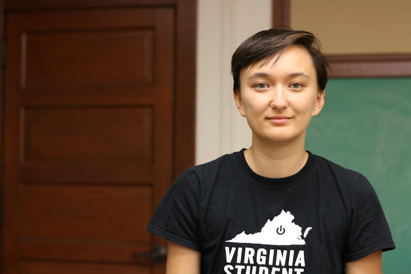 Ibby Han witnessed last year's torchlit white supremacist march at UVA. This year, she's working with UVA Students United to organize an anniversary rally at the Rotunda.