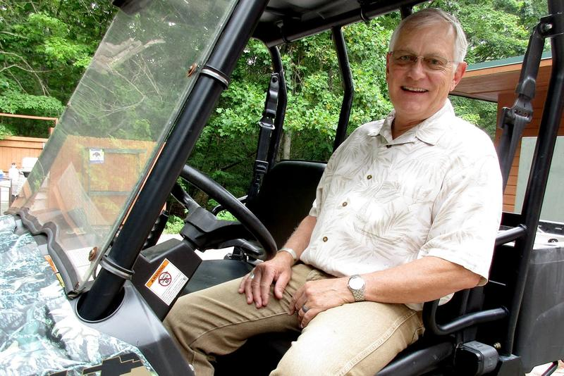 Ed Clark is the founder and president of the Wildlife Center of Virginia.