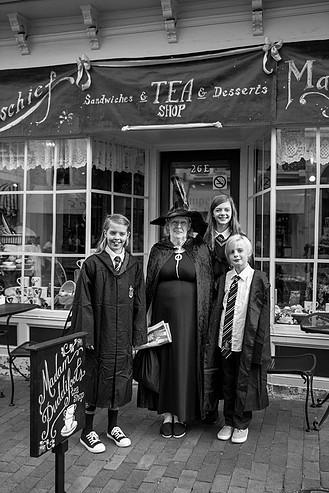 Participants of last year's Queen City Mischief & Magic Festival in Staunton.